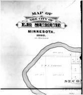 Le Sueur City - Above Left, Le Sueur County 1898